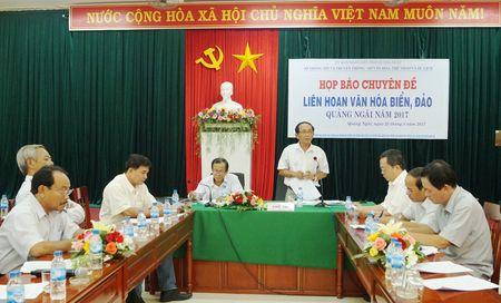 Lien hoan van hoa bien, dao Quang Ngai nam 2017 dien ra tu 30/8 den 05/9 - Anh 1