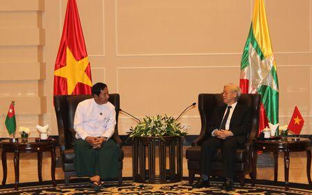 Viet Nam coi trong hop tac voi Dang Doan ket va Phat trien cua Myanmar - Anh 2