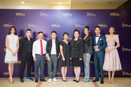 MC Phan Anh cung A hau Hoang My tim kiem Hoa hau Hoan vu Viet Nam 2017 - Anh 1