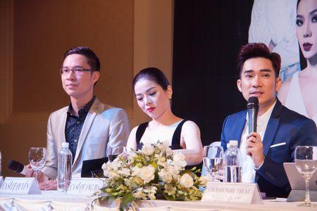 Le Quyen va Quang Ha on ngheo ke kho trong buoi hop bao live show - Anh 5