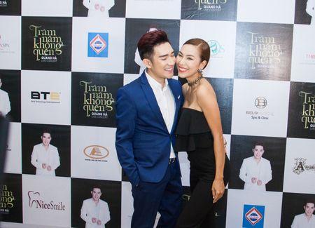 Le Quyen va Quang Ha on ngheo ke kho trong buoi hop bao live show - Anh 7