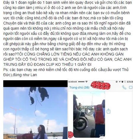 Ngoc Lan phan tran ve clip quat mang canh sat giao thong: 'Cong an Viet Nam chu dau phai cong an Trung Quoc ma khong biet thuong anh em cua minh' - Anh 4