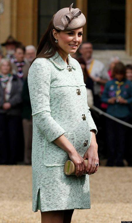 Phong cach thoi trang bau cua Cong nuong Kate Middleton - Anh 4