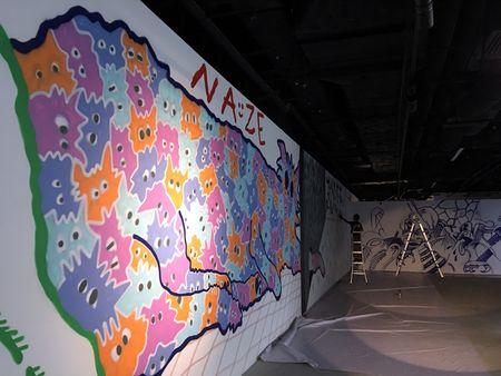 Nghe si Graffity Nhat ban 'tung hoanh' tai Ha Noi voi nhung buc tranh khong lo - Anh 15