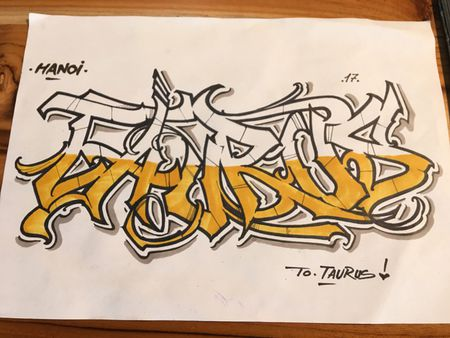 Nghe si Graffity Nhat ban 'tung hoanh' tai Ha Noi voi nhung buc tranh khong lo - Anh 21
