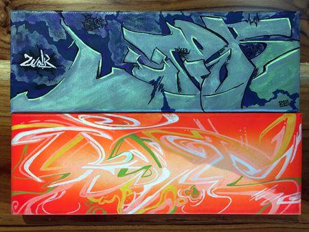 Nghe si Graffity Nhat ban 'tung hoanh' tai Ha Noi voi nhung buc tranh khong lo - Anh 22