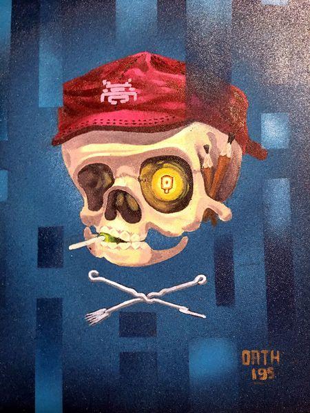 Nghe si Graffity Nhat ban 'tung hoanh' tai Ha Noi voi nhung buc tranh khong lo - Anh 25