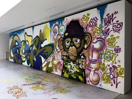 Nghe si Graffity Nhat ban 'tung hoanh' tai Ha Noi voi nhung buc tranh khong lo - Anh 3