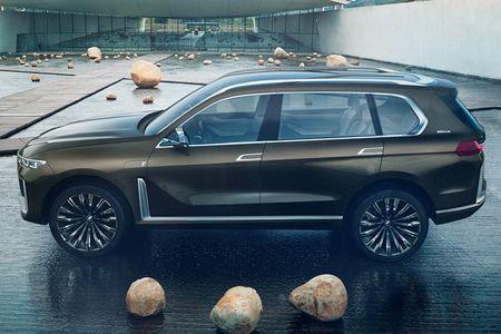 Ngam SUV hang sang BMW X7 iPerformance truoc ngay ra mat - Anh 1