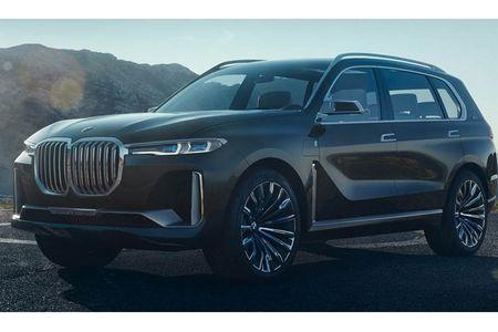 Ngam SUV hang sang BMW X7 iPerformance truoc ngay ra mat - Anh 3