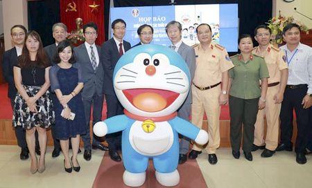 Phat dong Cuoc thi sang tac khau hieu 'Doraemon voi An toan giao thong' - Anh 1