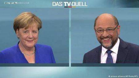 Bau cu Duc 2017: Loi the cua Thu tuong Angela Merkel - Anh 1