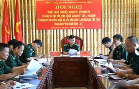 BDBP Ninh Binh: Tao chuyen bien tich cuc trong cong tac tai chinh, hau can - Anh 1