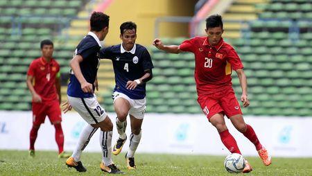 Tran Viet Nam thang Campuchia o SEA Games 29 bi nghi ban do - Anh 1