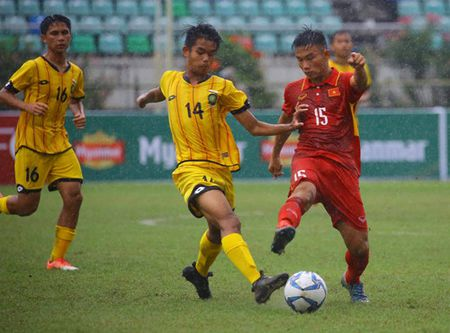 U.18 Viet Nam thang dam Brunei 8-1 tai giai Dong Nam A 2017 - Anh 4