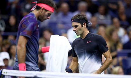 Thua Del Potro, Federer lo hen voi Nadal o ban ket US Open 2017 - Anh 1
