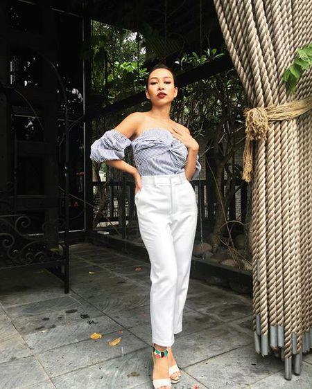 Ngac nhien khi nghe Thao Trang gia giong Uyen Linh hat 'Cam on tinh yeu' - Anh 9
