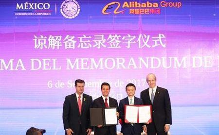 Mexico ki thoa thuan thuong mai dien tu voi Alibaba - Anh 1