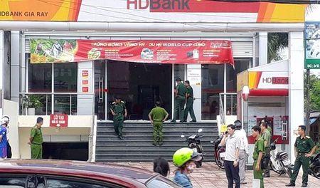 Vu cuop ngan hang o Dong Nai: da xac dinh duoc nghi can - Anh 1