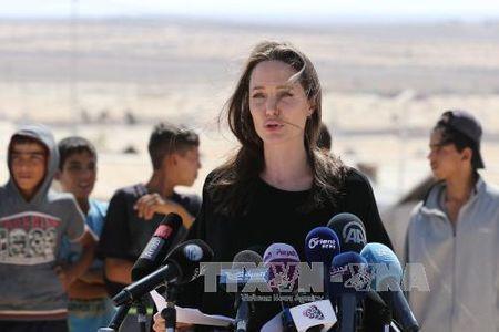 Angelina Jolie len ke hoach tai xuat man bac - Anh 1