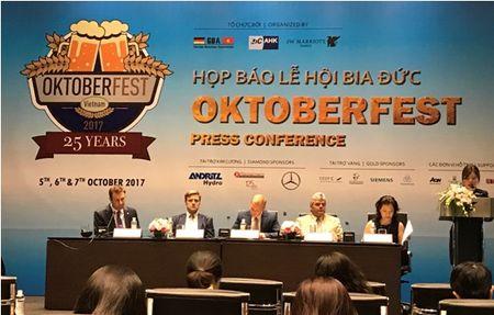 Sap dien ra su kien van hoa GBA Oktoberfest Viet Nam 2017 - Anh 1