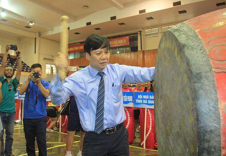 Khai mac Giai Bong ban Cup Hoi Nha bao Viet Nam lan thu XI - Anh 2