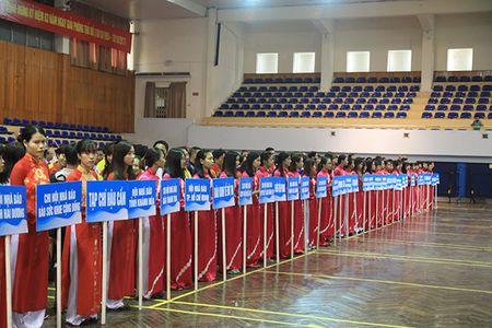 Khai mac Giai Bong ban Cup Hoi Nha bao Viet Nam lan thu XI - Anh 5