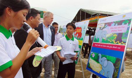 Thanh lap Khu bao ton loai va sinh canh voi Quang Nam - Anh 2