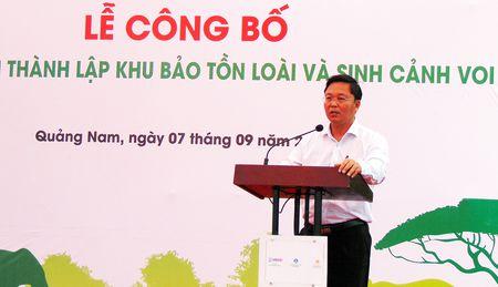 Thanh lap Khu bao ton loai va sinh canh voi Quang Nam - Anh 3