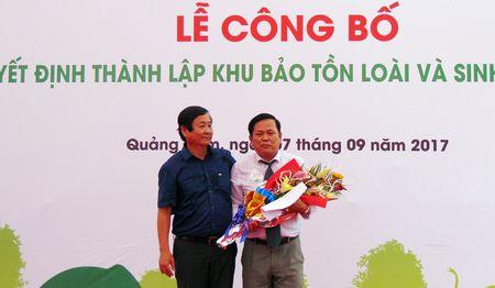 Thanh lap Khu bao ton loai va sinh canh voi Quang Nam - Anh 5