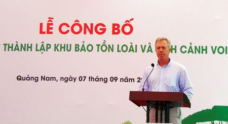 Thanh lap Khu bao ton loai va sinh canh voi Quang Nam - Anh 6