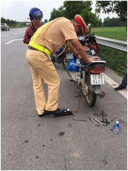 He lo thong tin bat ngo ve 'thu pham' rai dinh tren cao toc Ha Noi – Bac Giang - Anh 2