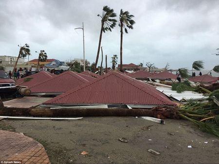 Bao Irma can quet Caribe, khien 10 nguoi thiet mang truoc khi vao My - Anh 1