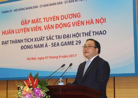 Bi thu Thanh uy Ha Noi: Moi tam Huy chuong o SEA Games khong chi dem vinh quang ve cho dat nuoc… - Anh 1