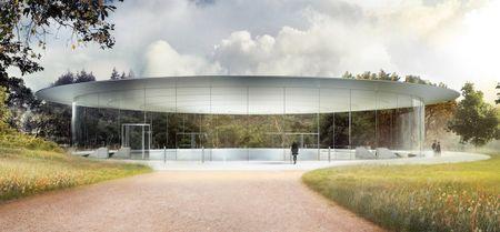 Apple gap rut hoan thien Steve Jobs Theater: dia diem dien ra su kien ra mat iPhone 8 - Anh 1