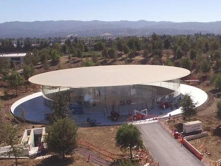 Apple gap rut hoan thien Steve Jobs Theater: dia diem dien ra su kien ra mat iPhone 8 - Anh 5