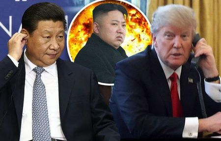 Tin the gioi dem qua: Ong Trump va ong Tap ban cach doi pho Trieu Tien - Anh 1