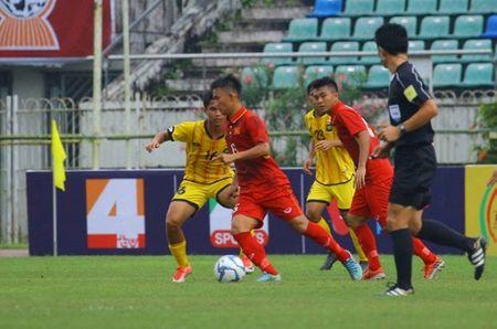 'Huy diet' Brunei, U18 Viet Nam vuon len dau bang U18 DNA - Anh 1