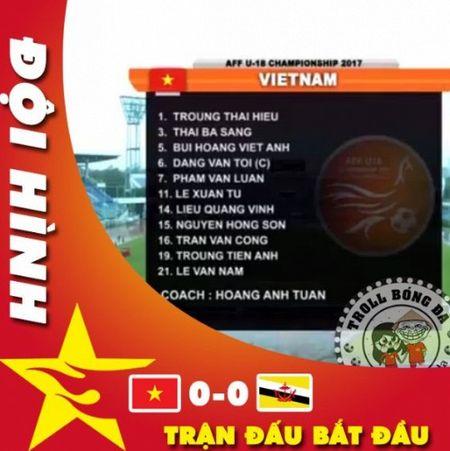 'Huy diet' Brunei, U18 Viet Nam vuon len dau bang U18 DNA - Anh 3