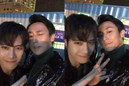 Jackson (GOT7) tam dung hoat dong vi suc khoe yeu, Rocker Nguyen 'voi' inbox tham hoi - Anh 1