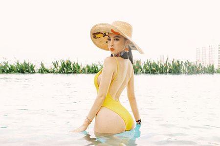 Khoe vong 3 'nay no', Angela Phuong Trinh bac bo nghi van bom sua - Anh 1
