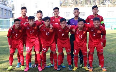 Hang cong toa sang, U18 Viet Nam de bep Brunei - Anh 1