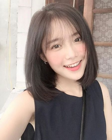 5 kieu toc ly tuong mua thu – dong cho ban gai, du mat tron, dai hay vuong cu cat la se dep het y - Anh 1