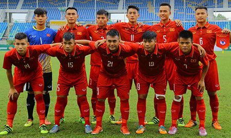 U18 Viet Nam thang 8-1 trong tran ra quan giai vo dich Dong Nam A - Anh 1