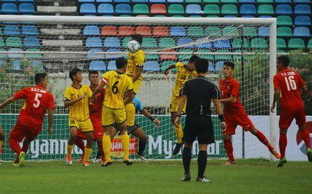 U18 Viet Nam thang 8-1 trong tran ra quan giai vo dich Dong Nam A - Anh 2