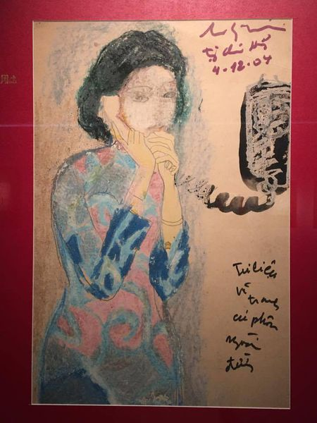 Chiem nguong bo suu tap tranh do so cua Luu Cong Nhan - Anh 15