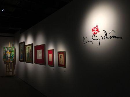 Chiem nguong bo suu tap tranh do so cua Luu Cong Nhan - Anh 1