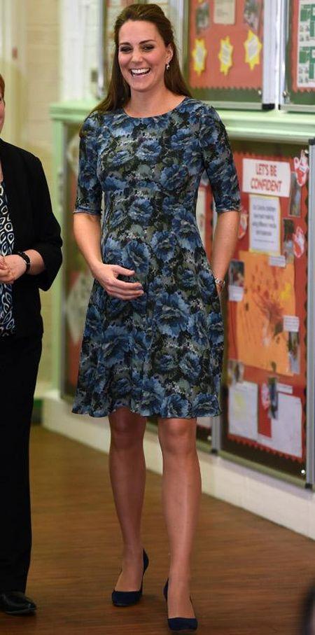 Me man thoi trang ba bau cua Cong nuong Kate Middleton - Anh 8