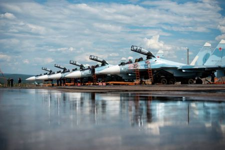 11 hinh anh an tuong ve chien dau co Su-30SM moi nhat cua Nga - Anh 11
