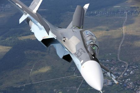 11 hinh anh an tuong ve chien dau co Su-30SM moi nhat cua Nga - Anh 8